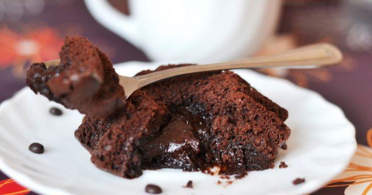 Шоколадный фондан. Десерт за 20 минут