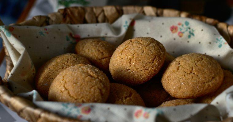 Печенье с имбирем и корицей